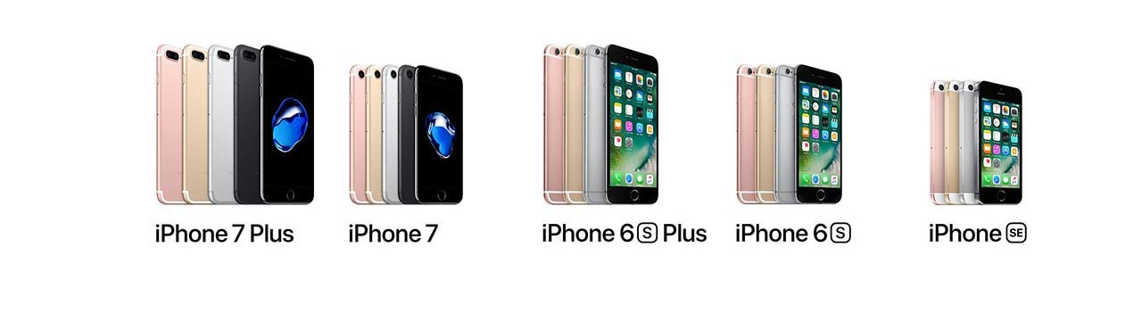 confronto Apple iPhone