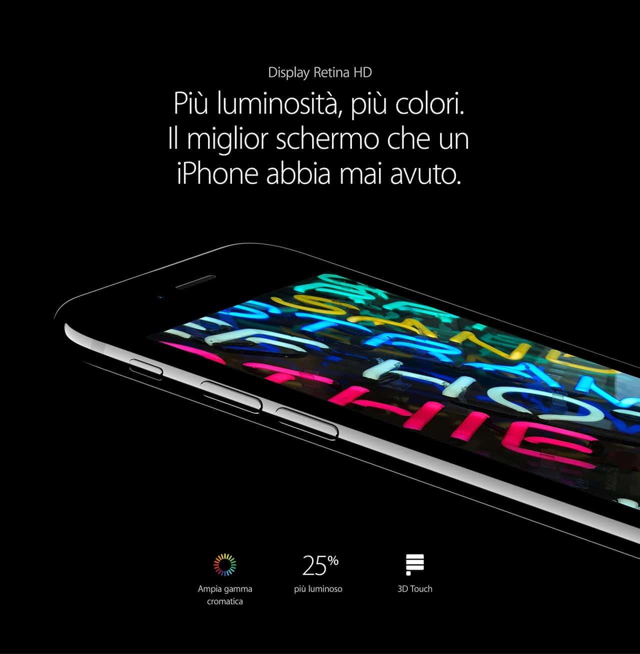 iPhone 7 display retina