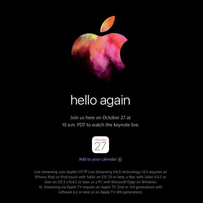 Non perdere il prossimo keynote Apple | Computime