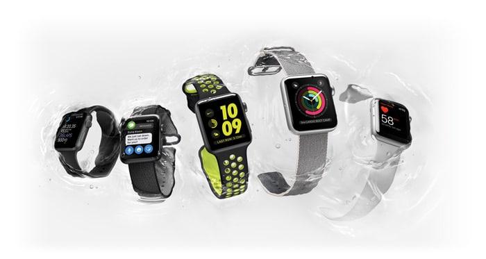 Ecco il nuovo Apple Watch Serie 2