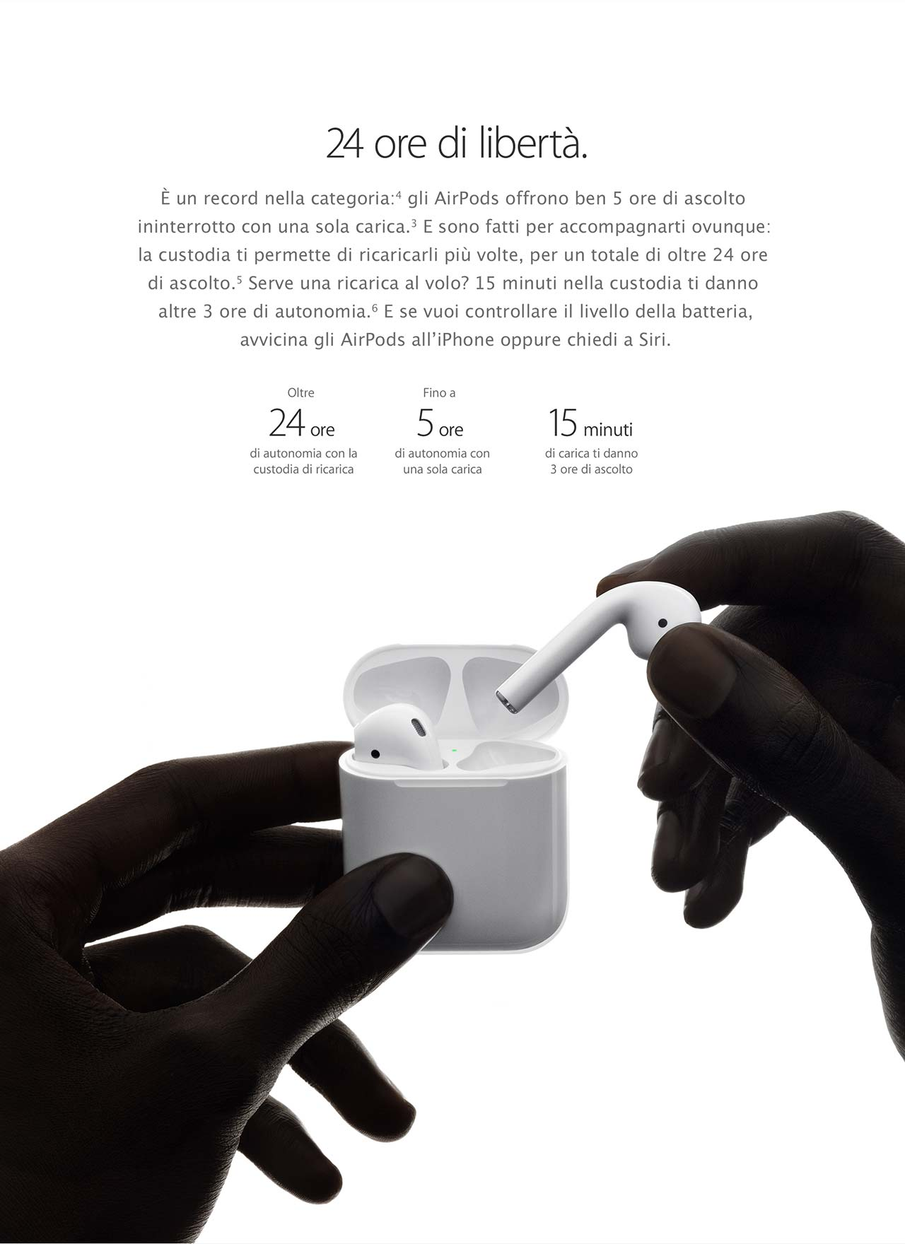 AirPods con la custodia