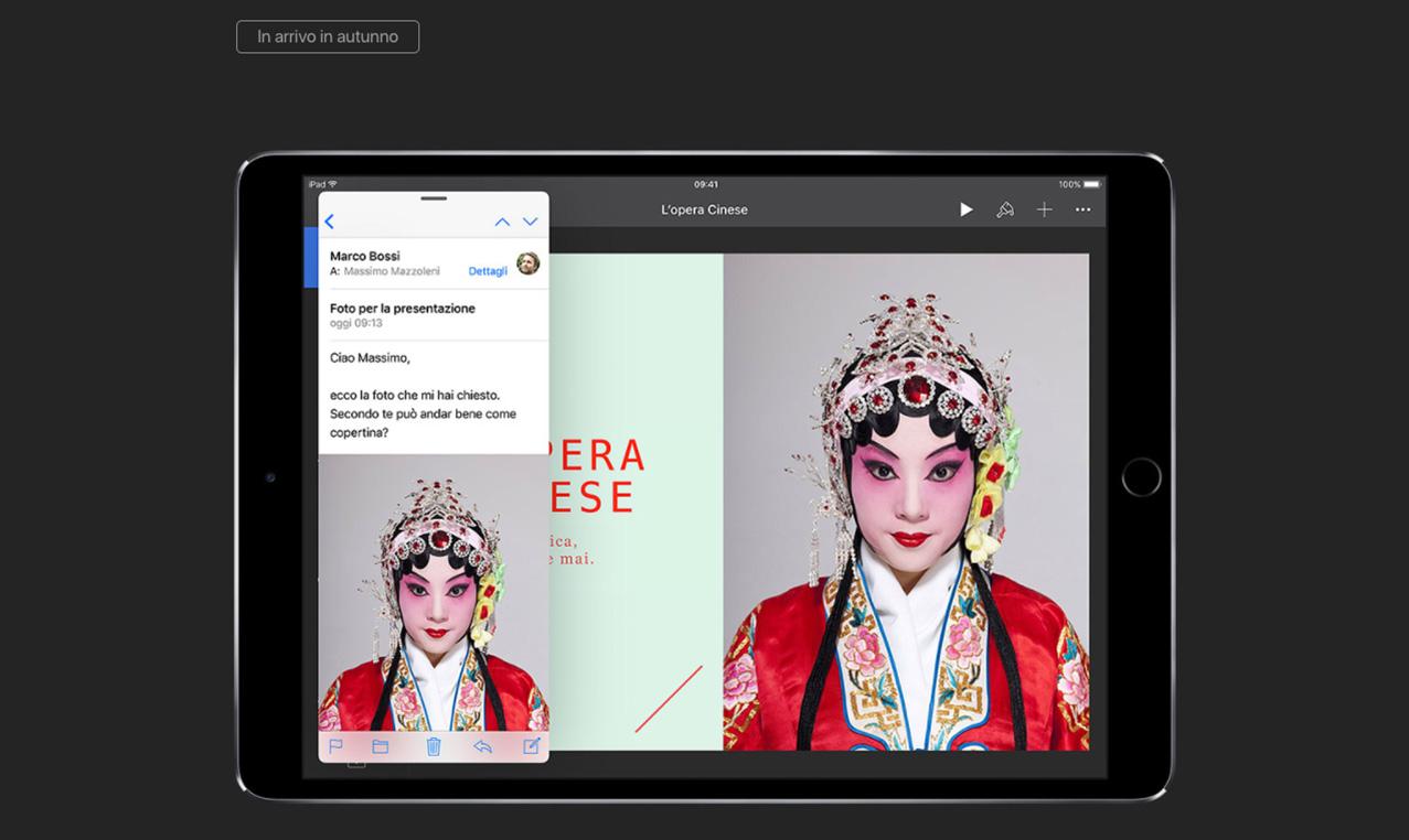 iPad Pro modifica immagini