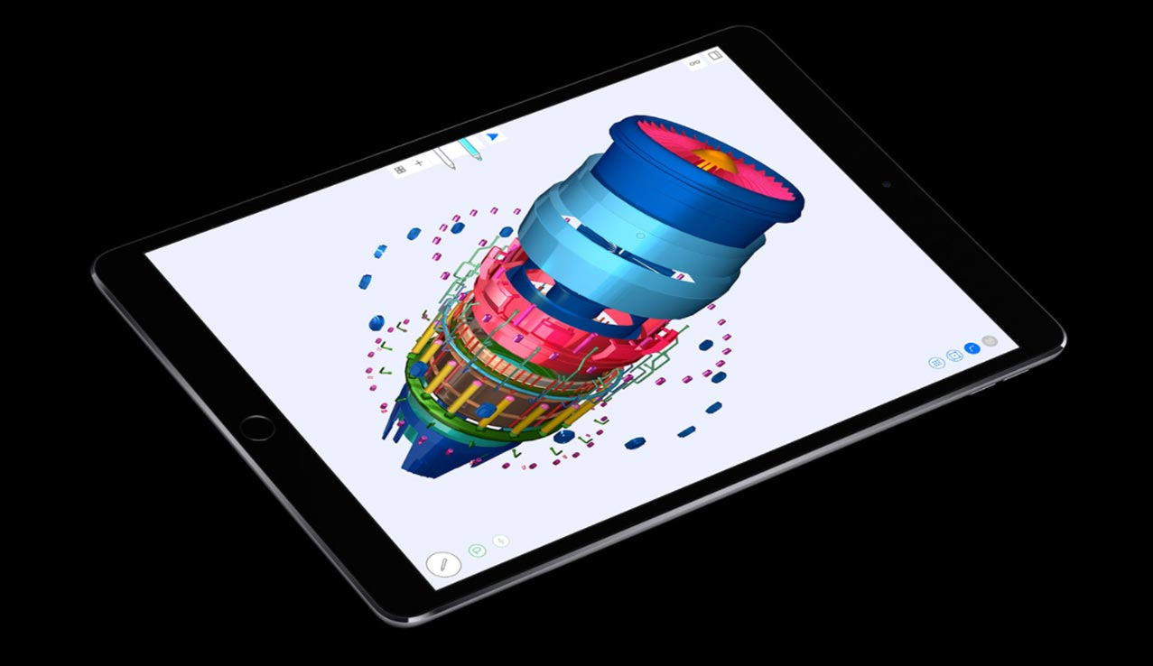 iPad Pro display