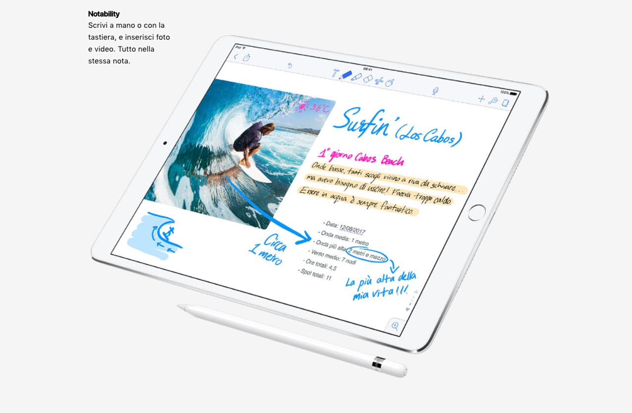 iPad Pro Notability