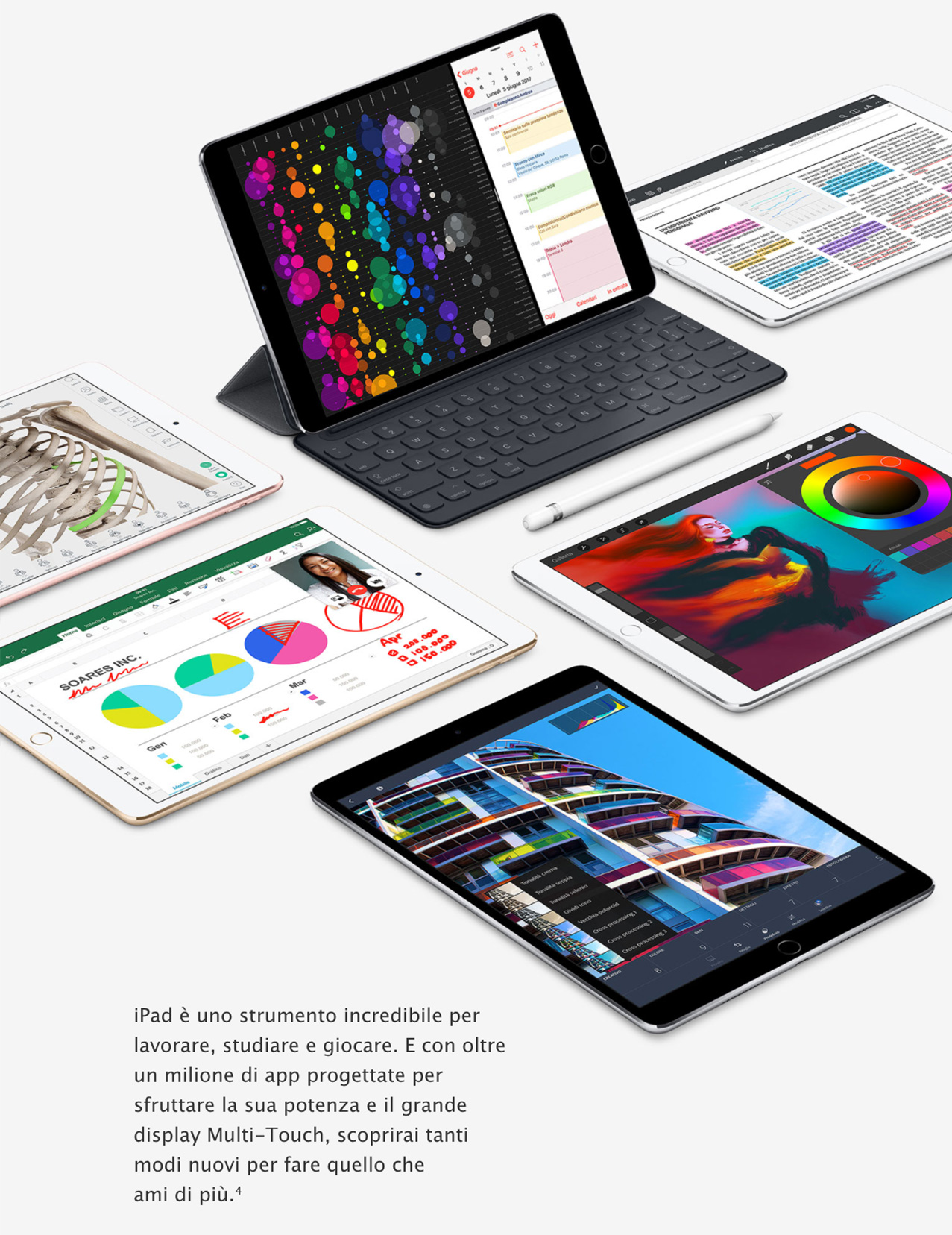 iPad Pro strumento lavoro