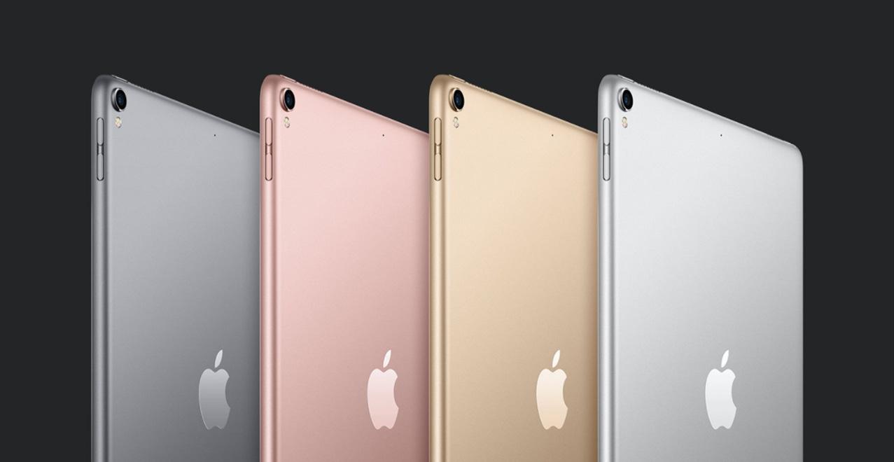 iPad Pro colori retro