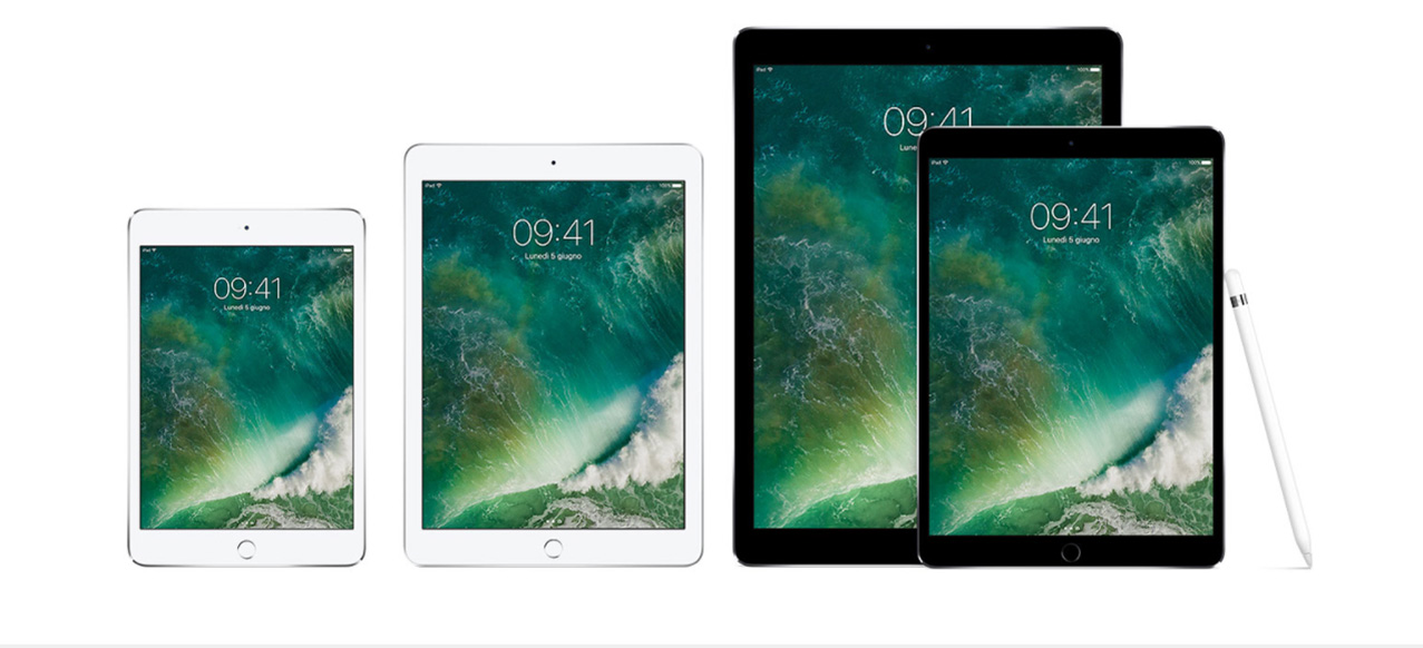iPad Pro panoramica
