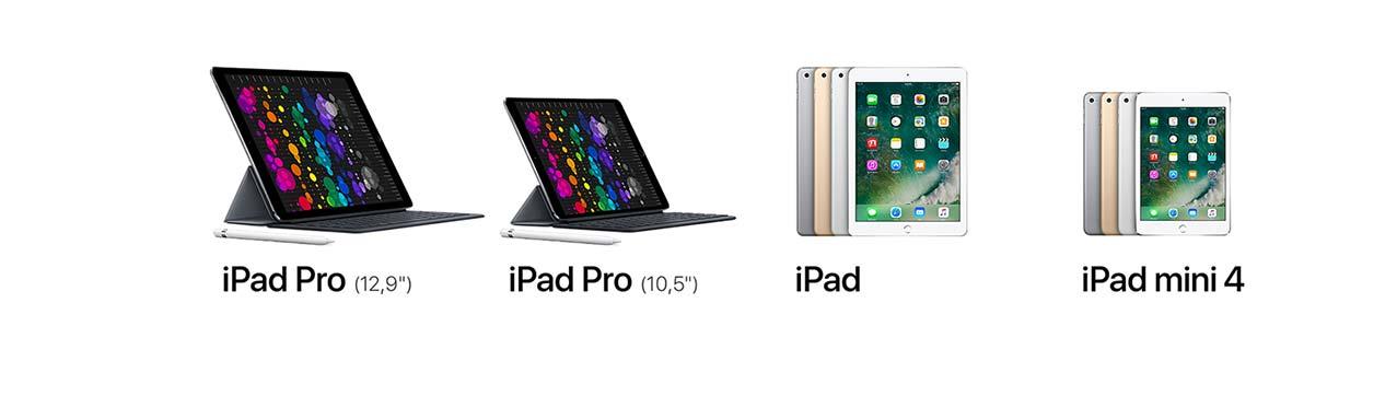 iPad confronto