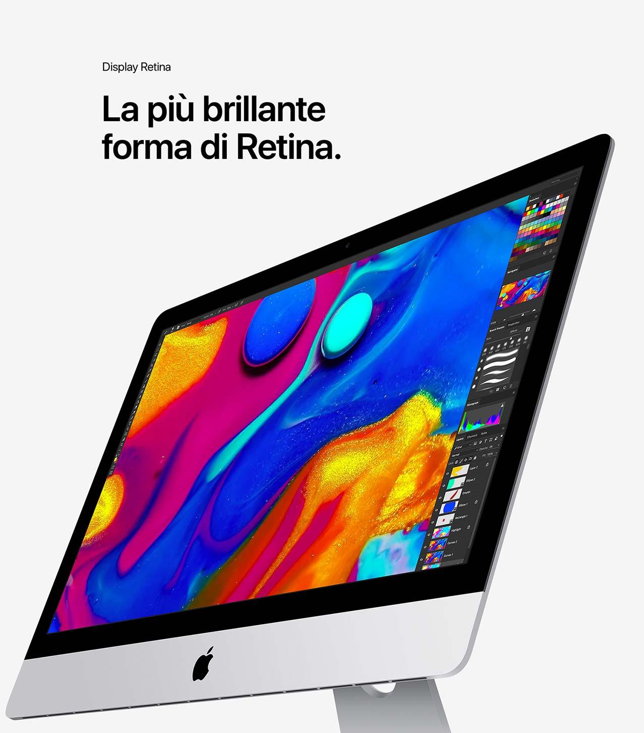 iMac display retina