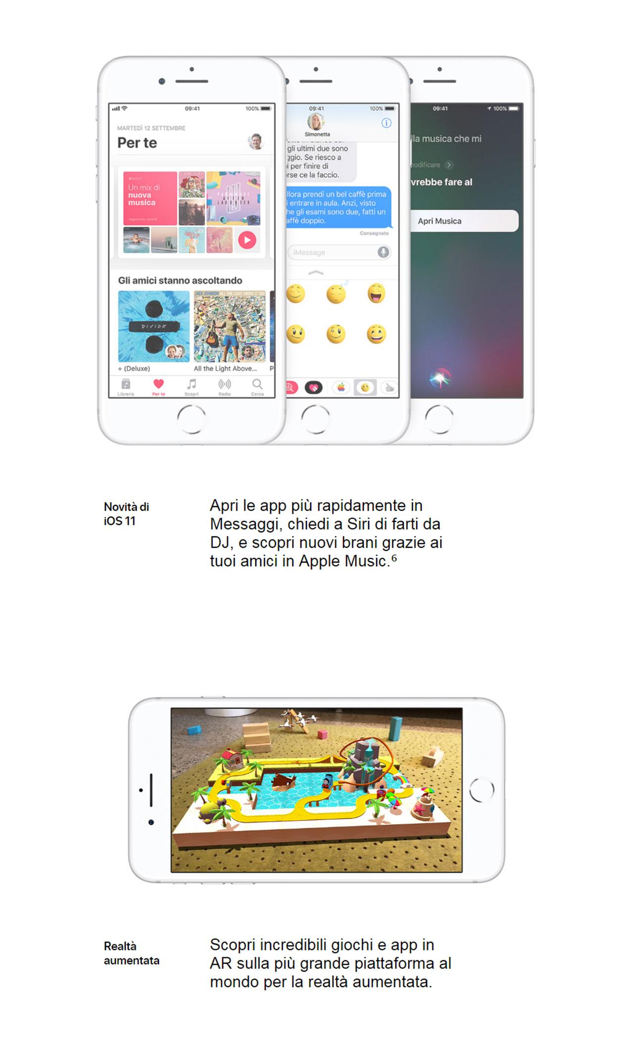 iPhone 8 Caratteristiche