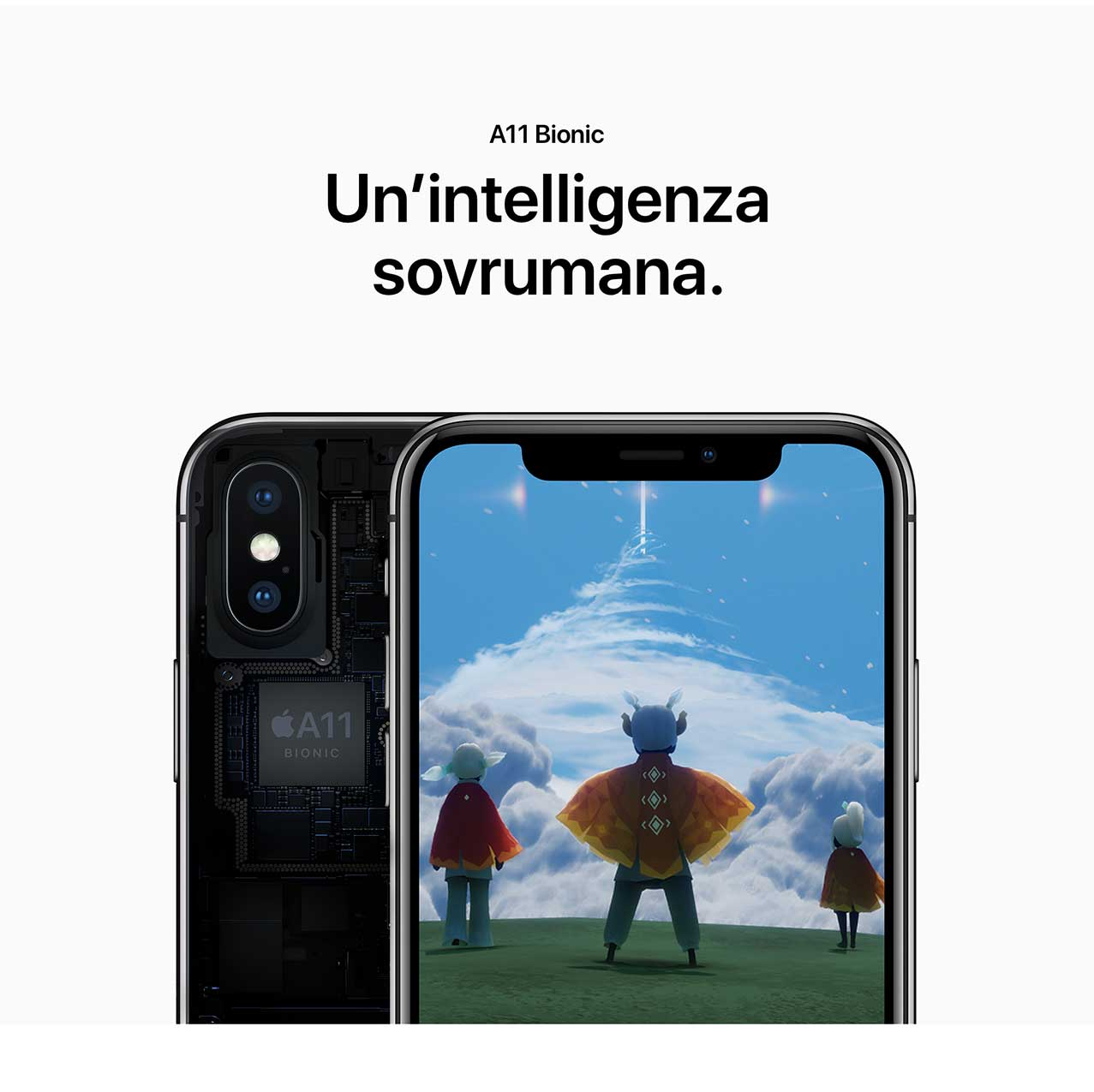 iPhone X processore