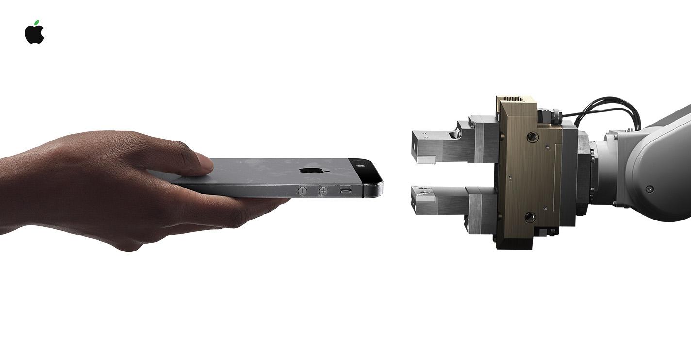 Giornata della terra 2018. Daisy il robot di Apple che smonta 200 iPhone l'ora per recuperare materiali preziosi