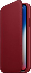Cover Folio per iPhone X (PRODUCT)RED