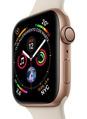 Apple Watch Series4 - Aluminum Gold - SportStone - Vertical