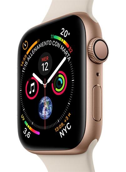 Apple Watch Series4 - Aluminum Gold - SportStone - Vertical