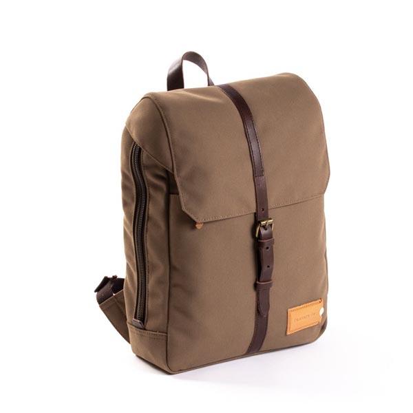 Property of Zaino Charlie 12H Backpack Olive Brown / Dark Brown