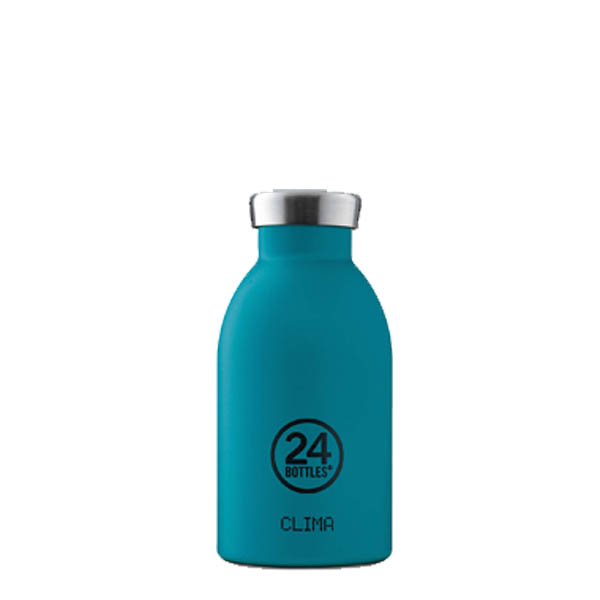 24Bottles bottiglia termica Clima Bottle 330 Stone Atlantic Bay