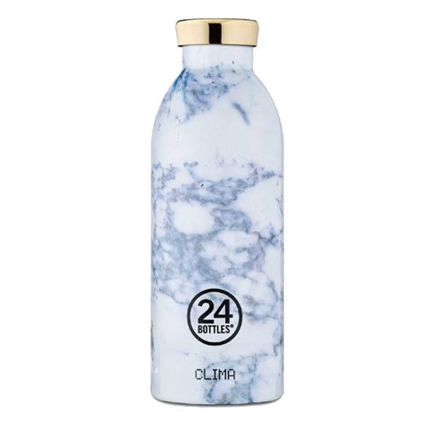 24Bottles bottiglia termica Clima Bottle 050 Marble White