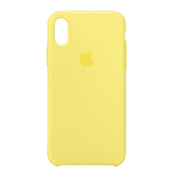 Apple Custodia In Silicone Per Iphone X Giallo Cedro