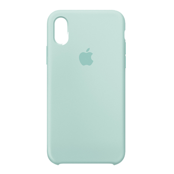 Apple Custodia In Silicone Per Iphone X Verde Mare