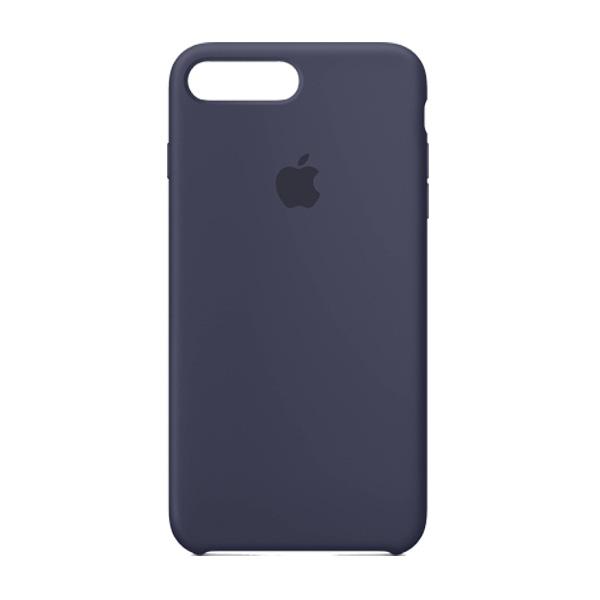 Apple Custodia In Silicone Per Iphone 8 / 7 Plus Blu Notte