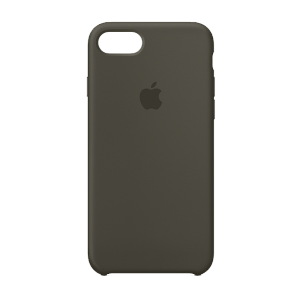Apple Custodia In Silicone Per Iphone 8 / 7 Verde Olivo