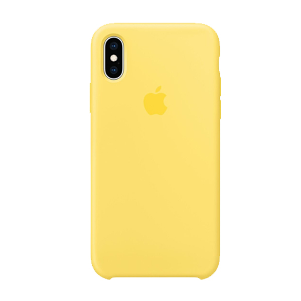 Apple Custodia In Silicone Per Iphone Xs Canary Yellow