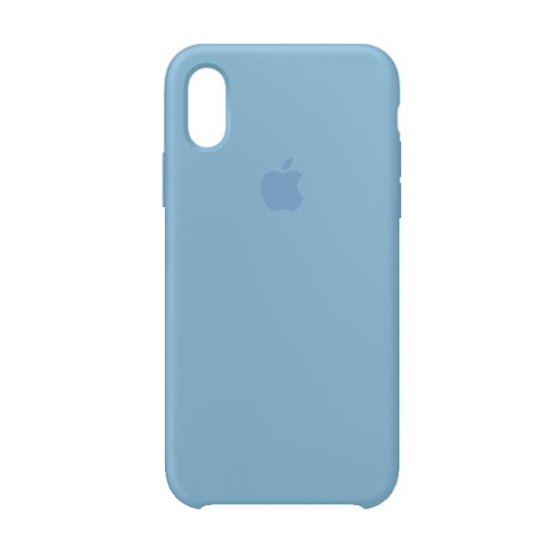 Apple Custodia In Silicone Per Iphone Xs Fiordaliso Cornflower
