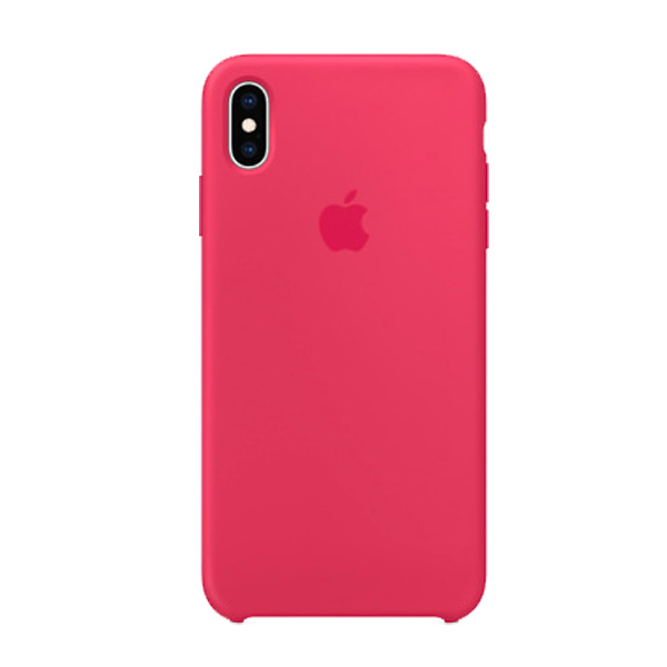 Apple Custodia In Silicone Per Iphone Xs Ibisco
