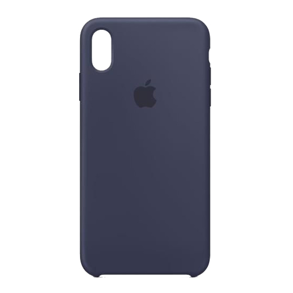 Apple Custodia In Silicone Per Iphone Xs Max Blu Notte