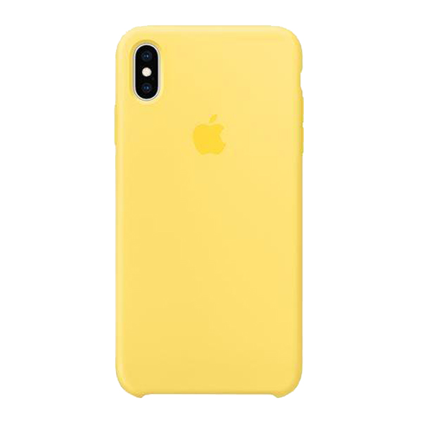 Apple Custodia In Silicone Per Iphone Xs Max Canary Yellow