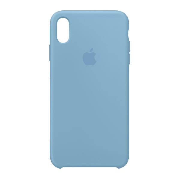 Apple Custodia In Silicone Per Iphone Xs Max Fiordaliso Cornflower