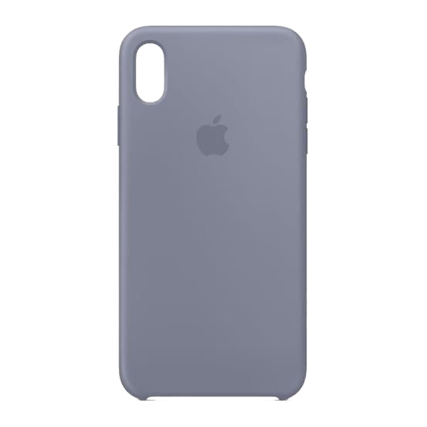 Apple Custodia In Silicone Per Iphone Xs Max Grigio Lavanda