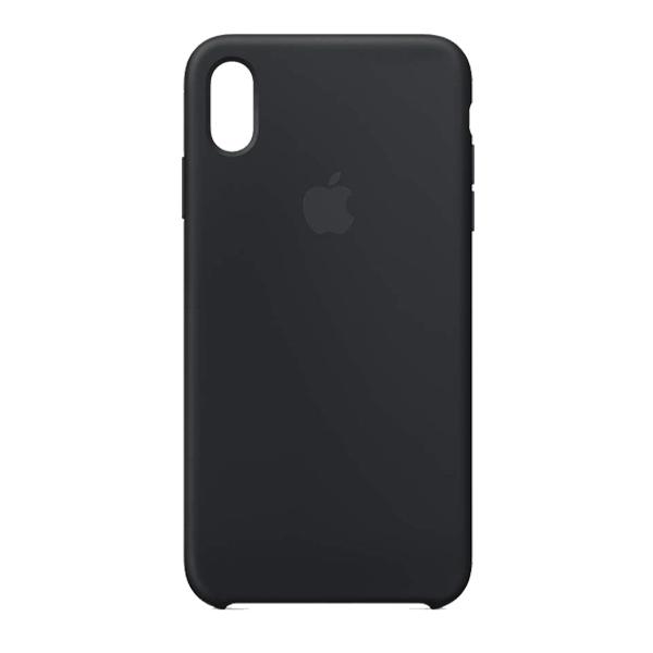 Apple Custodia In Silicone Per Iphone Xs Max Nero