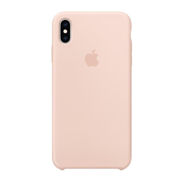 Apple Custodia In Silicone Per Iphone Xs Max Rosa Sabbia