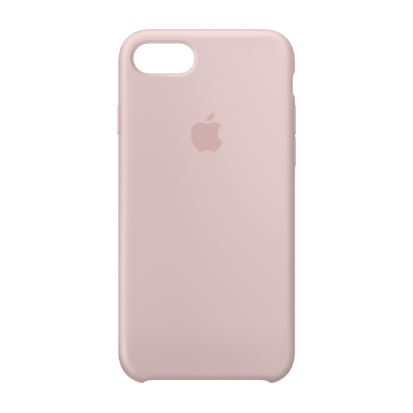 Apple Custodia In Silicone Per Iphone 8 / 7 Rosa Sabbia