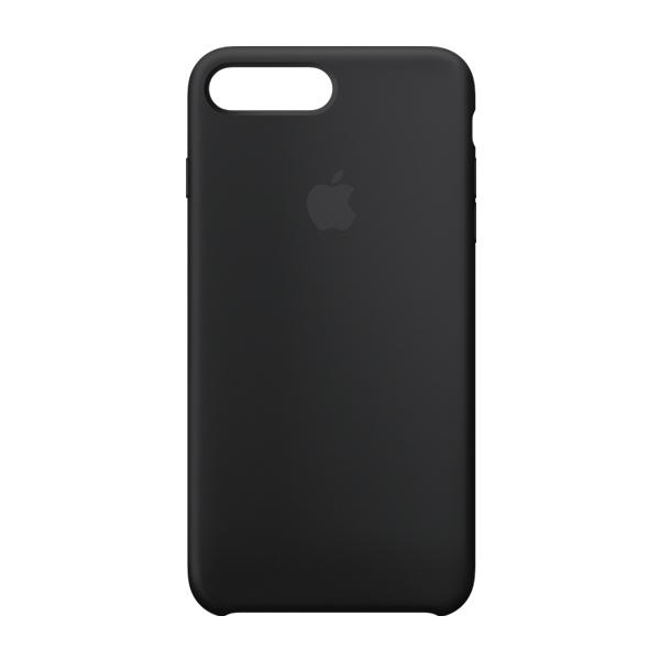 Apple Custodia In Silicone Per Iphone 8 / 7 Plus Nero