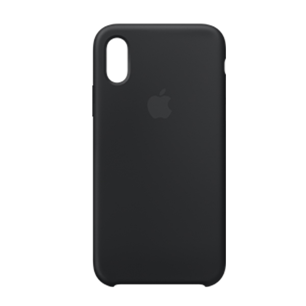 Apple Custodia In Silicone Per Iphone Xs Nero