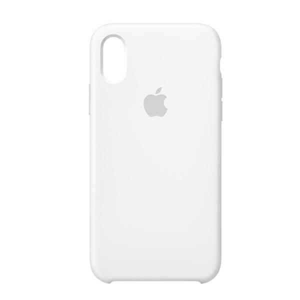Apple Custodia In Silicone Per Iphone Xs Bianco