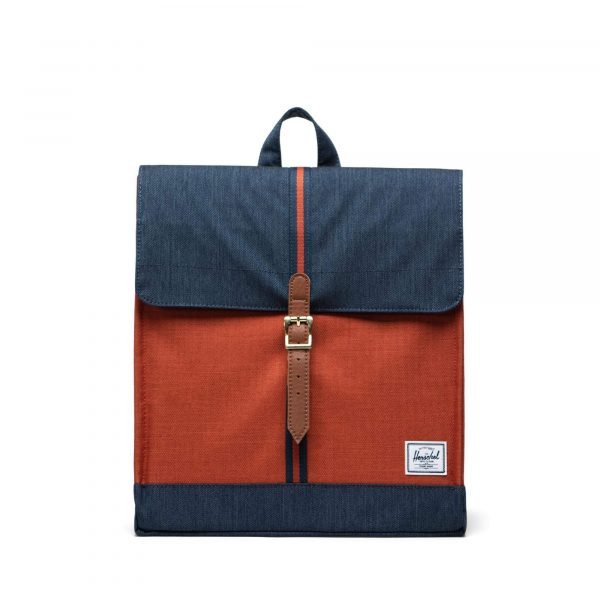 Herschel Zaino City Mid-Volume Indigo Denim/Picante