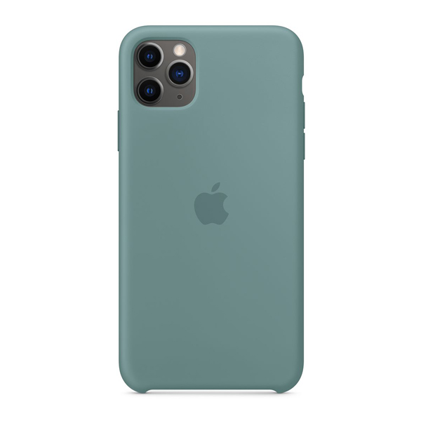 Apple Custodia in silicone iPhone 11 Pro Max Cactus