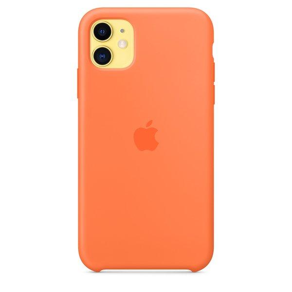 Apple Custodia In Silicone Per iPhone 11 Vitamina C
