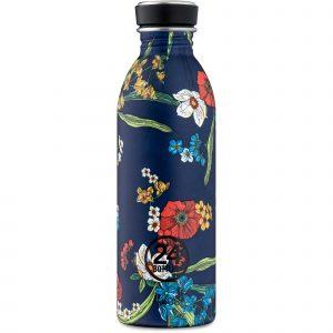 24Bottles Bottiglia Riutilizzabile Urban Bottle 050 Denim Bouquet