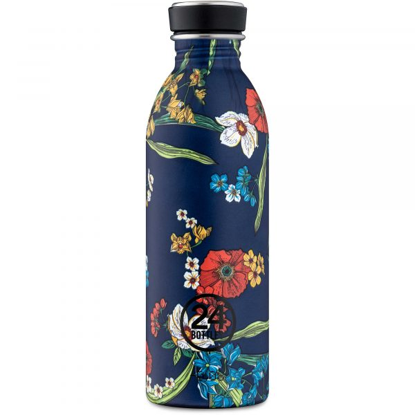 24Bottles Bottiglia Riutilizzabile Urban Bottle 050 Denim Bouquet