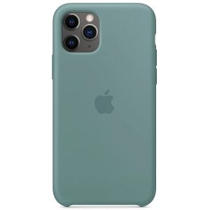 Apple Cover in Silicone per iPhone 11 Pro Cactus