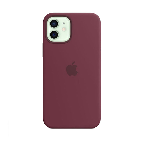 Apple Custodia Magsafe In Silicone Per Iphone 12/12 Pro Prugna