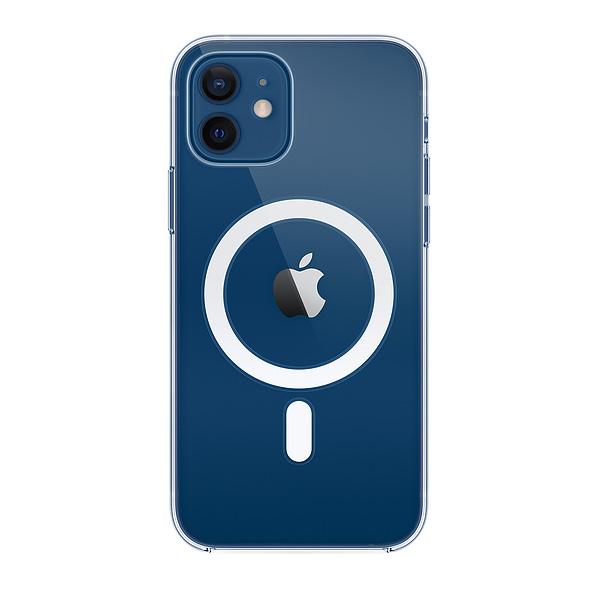Apple Custodia Magsafe Per Iphone 12/12 Pro Trasparente