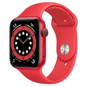 Apple Watch Serie 6 GPS 40mm Alluminio (RED) Cinturino Sport (RED)