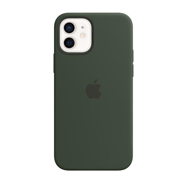 Custodia Apple Magsafe in Silicone per Iphone 12/12 Pro Verde Cipro