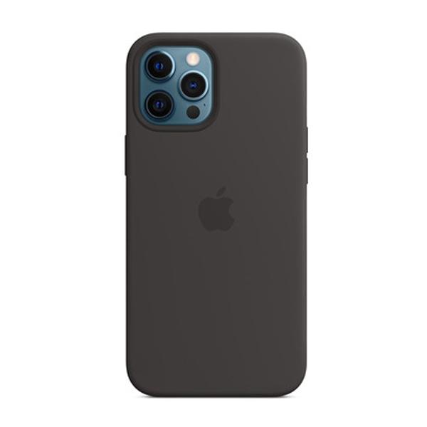 Custodia Apple Magsafe in Silicone per Iphone 12 Pro Max Nero